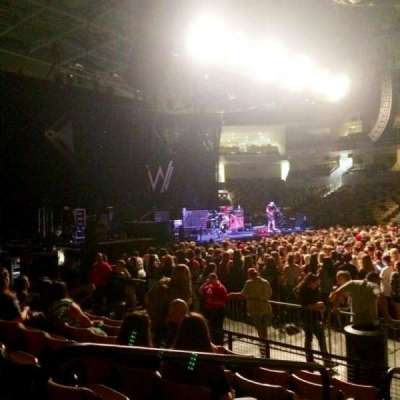 CFE Arena, section: 105, row: G, seat: 20