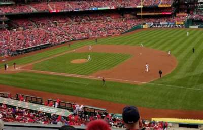 Busch Stadium, section: 240, row: 4, seat: 14