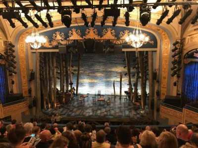 Gerald Schoenfeld Theatre, section: MEZZ, row: J, seat: 111