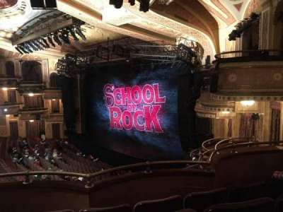 Winter Garden Theatre, section: MEZZ, row: D, seat: 34