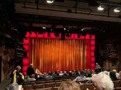 Laura Pels Theatre, section: Orchestra, row: N, seat: 17