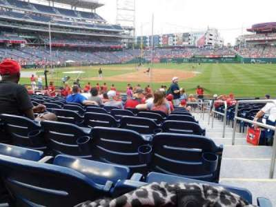 Nationals Park section 131