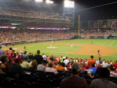 Nationals Park, section: 131, row: RR, seat: 7