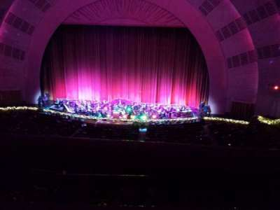 Radio City Music Hall, section: 2nd Mezzanine 3, row: A, seat: 312