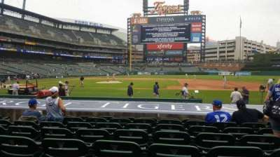 Comerica Park, section: 121, row: 14, seat: 9
