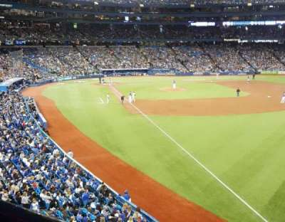 Rogers Centre, section: 211R, row: 1, seat: 2