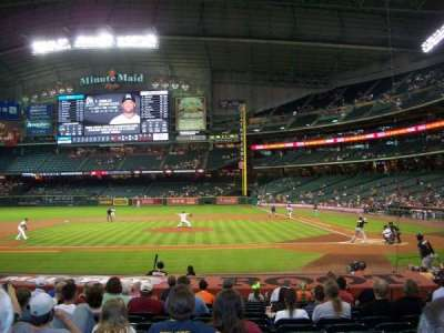 Minute Maid Park, section: 114, row: 18, seat: 12