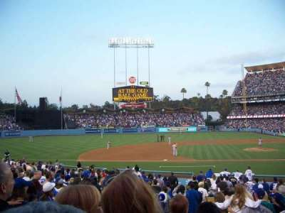 Dodger Stadium section 19FD