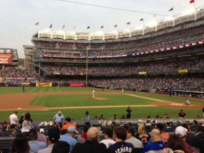 Yankee Stadium, section: 124, row: 18, seat: 11