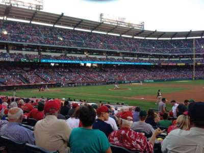 Angel Stadium, section: F126, row: P, seat: 18