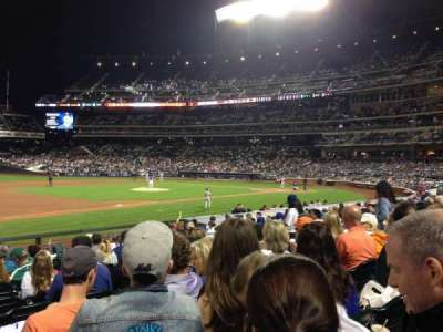 Citi Field, section: 124, row: 14, seat: 11
