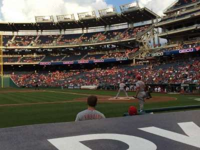Nationals Park, section: 117, row: D, seat: 9