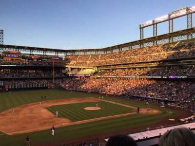 Coors Field, section: 241, row: 2, seat: 9