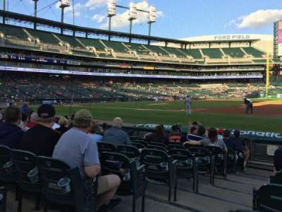 Comerica Park section 118