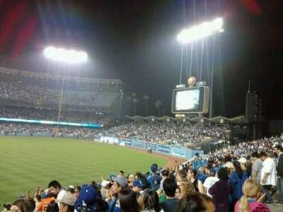 Dodger Stadium section 304PL
