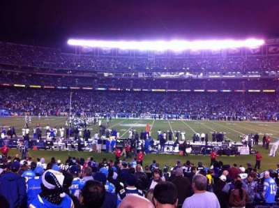 Qualcomm Stadium, section: F7, row: 23, seat: 3