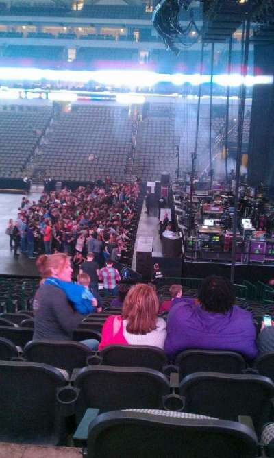 American Airlines Center, section: 104, row: Y, seat: 17