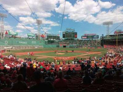 Fenway Park, section: 132, row: mm, seat: 5