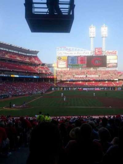 Great American Ball Park, section: 129, row: II, seat: 14