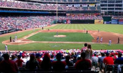 Globe Life Park in Arlington, section: 133, row: 25, seat: 6