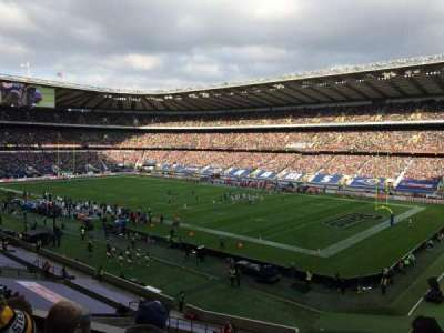 Twickenham Stadium section M1