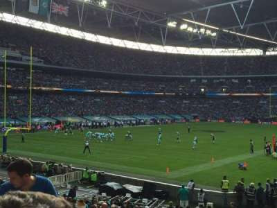 Wembley Stadium, section: 108, row: 25, seat: 158