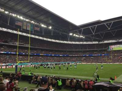 Wembley Stadium, section: 109, row: 7, seat: 207