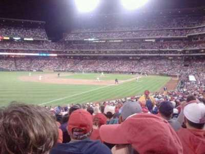 Citizens Bank Park, section: 138, row: 27, seat: 9