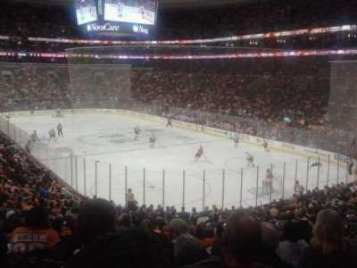 Wells Fargo Center, section: 117, row: 24, seat: 14