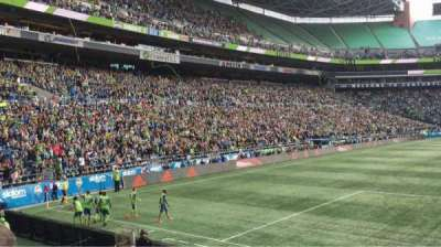 CenturyLink Field, section: 149, row: B, seat: 4