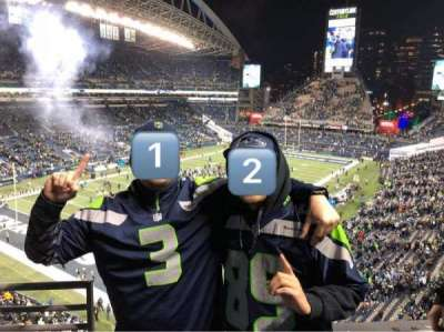 CenturyLink Field, section: 316, row: A, seat: 19