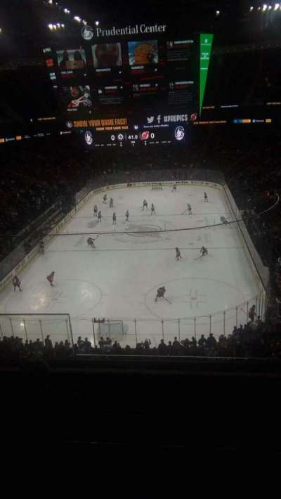 Prudential Center section 121