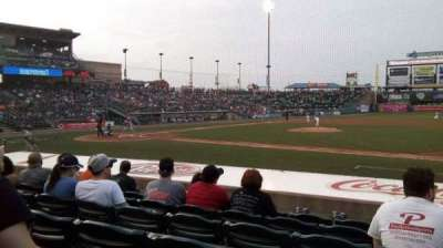 Coca-Cola Park, section: 107, row: K, seat: 17