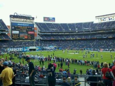 Qualcomm Stadium, section: P13, row: 6, seat: 10