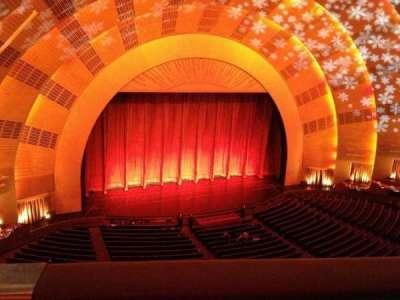 Radio City Music Hall section 3rd mezzanine 6