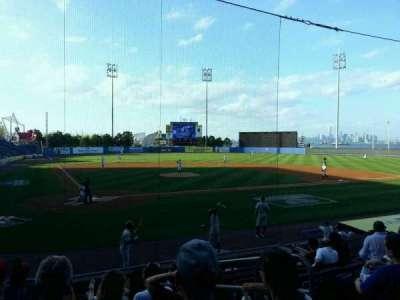 Richmond County Bank Ballpark, section: 10, row: L, seat: 3