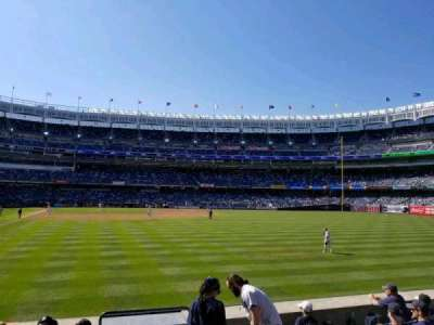 Yankee Stadium, section: 106, row: 7, seat: 1