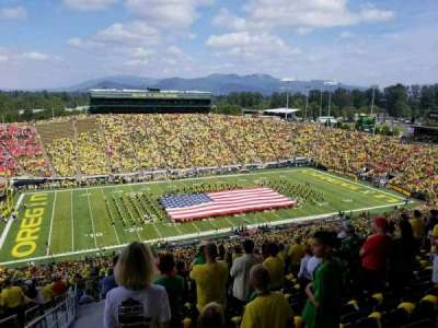 Autzen Stadium section 34PR