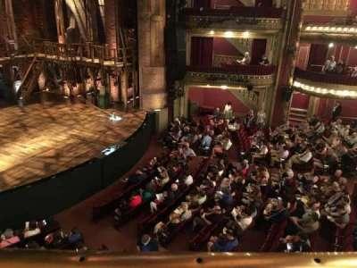 PrivateBank Theatre, section: Mezzanine L, row: A, seat: 15