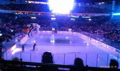 Bridgestone Arena, section: 120, row: j, seat: 4