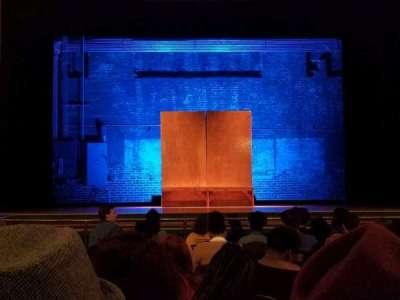 Attucks Theatre section Orch C