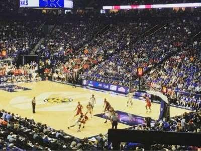 Bridgestone Arena, section: 107, row: M, seat: 6