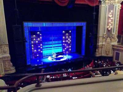 Oriental Theatre, section: LogeLC, row: B, seat: 337