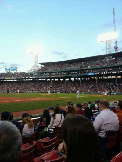 Fenway Park section Field Box 70