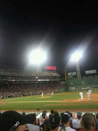 Fenway Park section Field Box 24