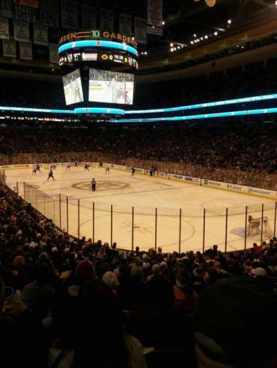 TD Garden, section: Loge 19, row: 19, seat: 18