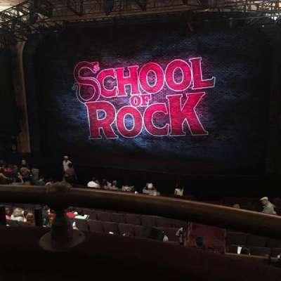 Winter Garden Theatre, section: Mezzanin, row: A, seat: 134