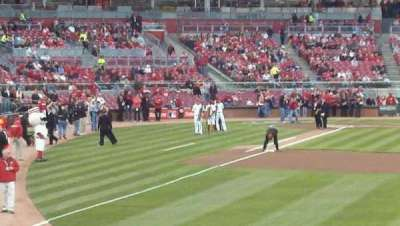 Great American Ball Park section 140