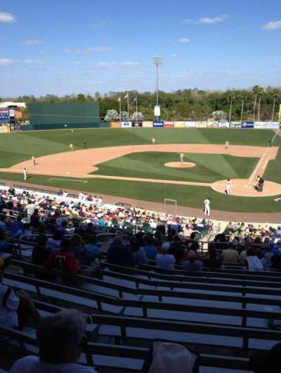 Hammond Stadium, section: 212, row: 16, seat: 10