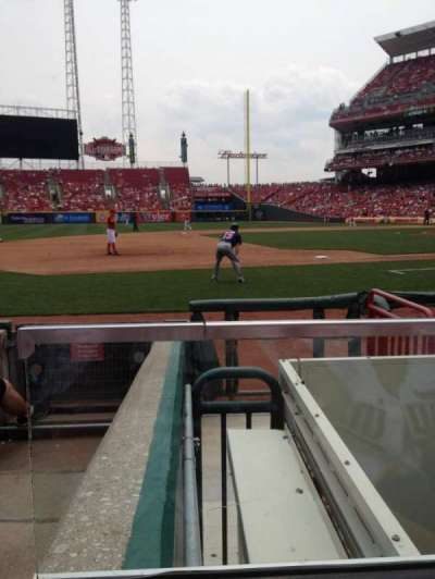 Great American Ball Park section 115A